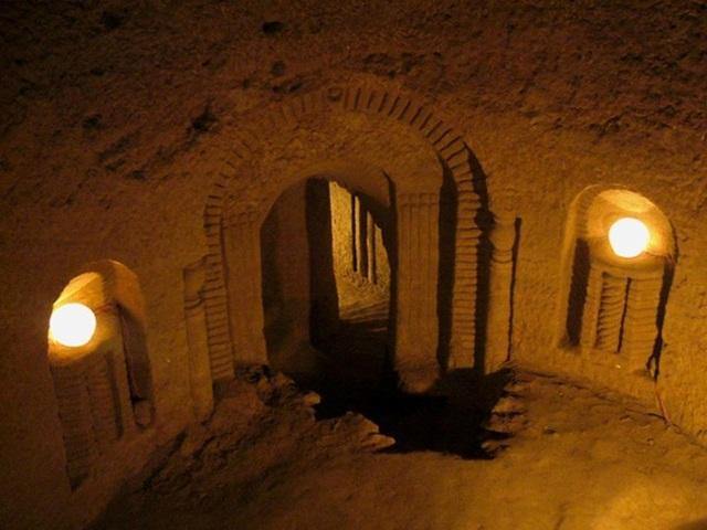Căn hầm đã trở thành một địa điểm hút khách du lịch