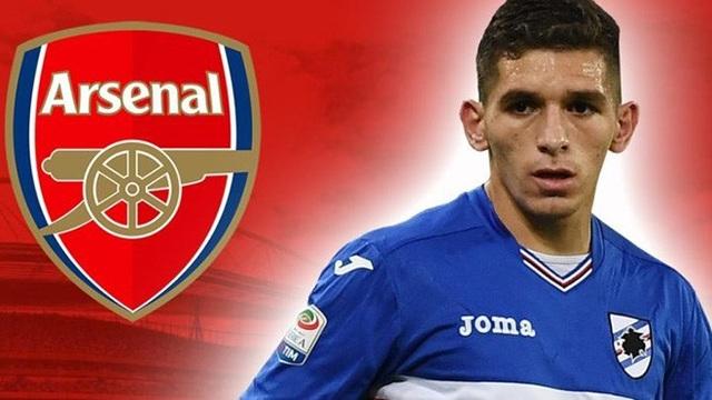 Lucas Torreira chuẩn bị gia nhập Arsenal