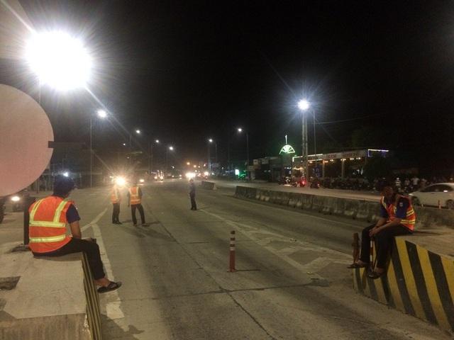 Từ 20h30 đến 21h tối ngày 10/01, giao thông tại trạm thu phí T2 trở lại bình thường.