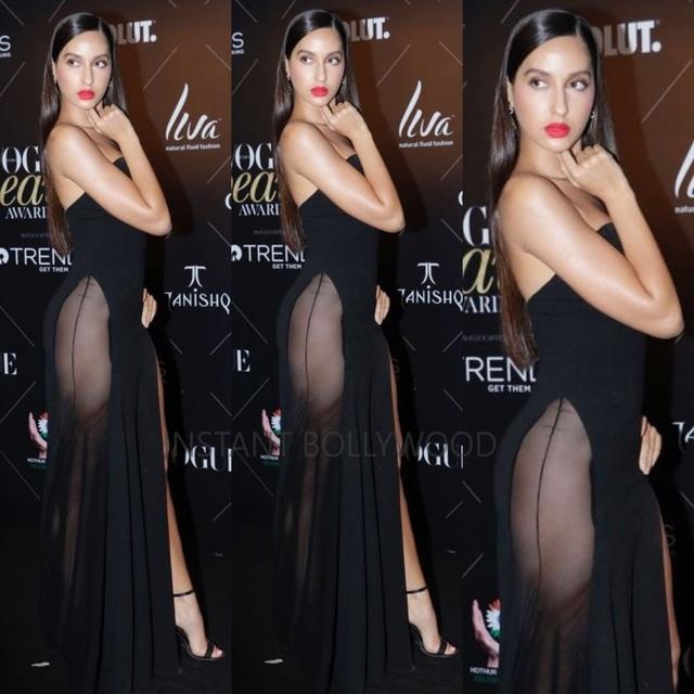 Hiếm có ngôi sao nào của Ấn Độ dám mặc táo bạo như thế này dự sự kiện