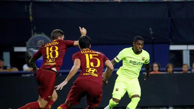AS Roma ngược dòng giành chiến thắng chung cuộc 4-2 tại IC Cup