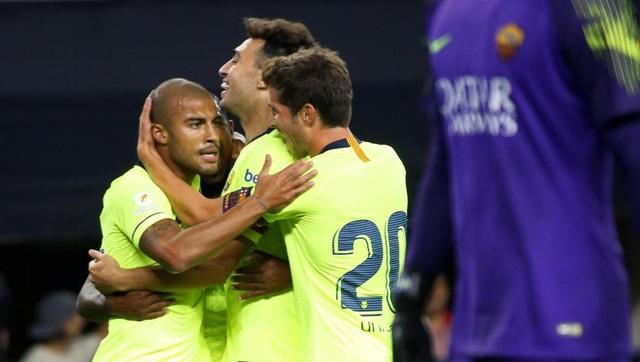Barcelona là đội chơi hay và hứng khởi hơn ở đầu trận