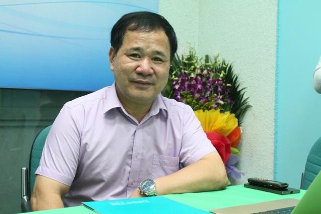 GS.TS Đinh Văn Sơn, Hiệu trưởng trường ĐH Thương Mại.