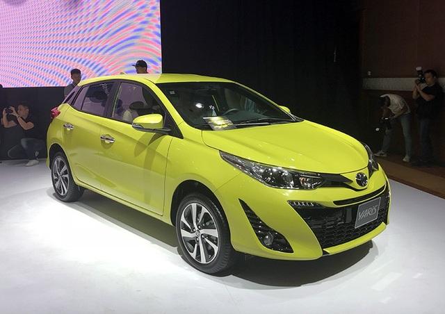 Mẫu Toyota Yaris mới vẫn được nhập khẩu từ Thái Lan.