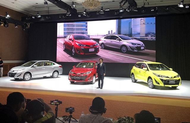 Toyota Việt Nam đã cùng lúc cho ra mắt hai mẫu xe hạng B là Vios và Yaris.