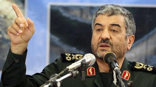 Tư lệnh Lực lượng Vệ binh Cách mạng Iran Mohammad Ali Jafari (Ảnh: Press TV)