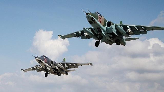 Máy bay Su-25 của Nga hoạt động tại Syria. (Ảnh: Sputnik)