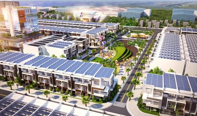 Sunshine City xây dựng hệ thống đường nội bộ rộng rãi và không gian xanh thoáng đãng.