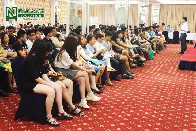 Hội thảo Vượt giới hạn - Gặt thành công do Nam Anh Education tổ chức thu hút hơn 200 người tham dự - Ảnh 1.