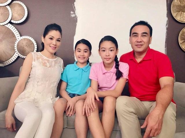 Tổ ấm của Quyền Linh, Dạ Thảo và hai con gái đáng yêu khiến nhiều người ngưỡng mộ