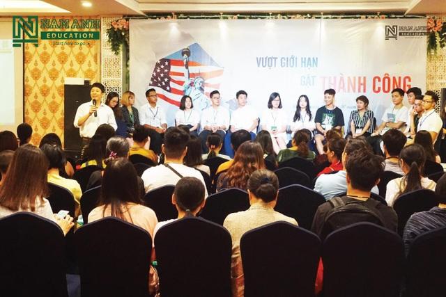 Hội thảo Vượt giới hạn - Gặt thành công do Nam Anh Education tổ chức thu hút hơn 200 người tham dự - Ảnh 2.