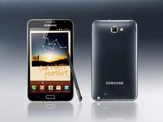 Samsung Galaxy Note thế hệ đầu, ra mắt năm 2011.