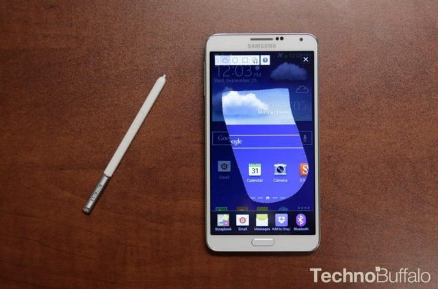 Samsung Galaxy Note3 lần đầu tiên có trang bị 4G, quay phim 4K.