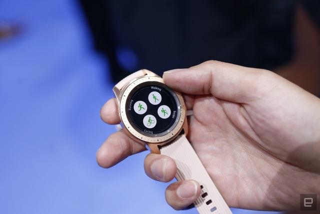 Các tính năng theo dõi hoạt động trên Galaxy Watch