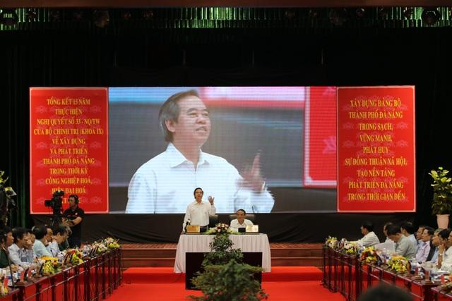 Trưởng Ban Kinh tế Trung ương Nguyễn Văn Bình: Quy hoạch phát triển Đà Nẵng, đừng để nhiệm kỳ trước cản bước nhiệm kỳ sau