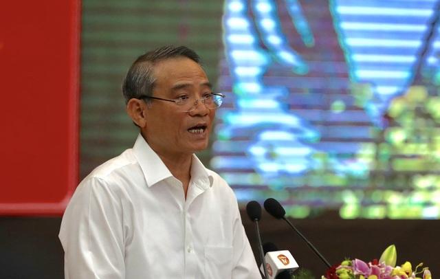 Bí thư Thành uỷ Đà Nẵng Trương Quang Nghĩa phát biểu tại Hội thảo