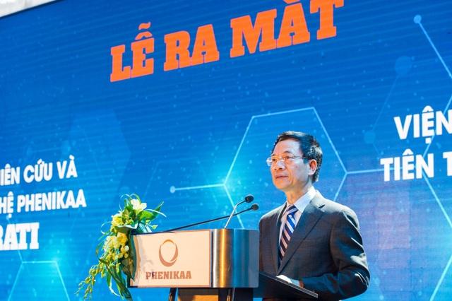 Ông Nguyễn Mạnh Hùng, quyền Bộ trưởng Bộ Thông tin & Truyền thông