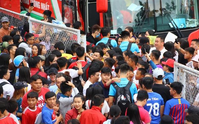 Người hâm mộ vẫn dành tình cảm rất lớn cho đoàn quân của HLV Park Hang Seo