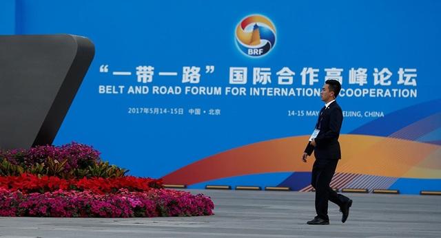 Diễn đàn Vành đai và Con đường được tổ chức tại Bắc Kinh, Trung Quốc năm 2017 (Ảnh: Reuters)