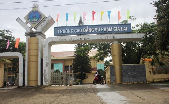 Trường Cao đẳng Sư phạm Gia Lai (TP. Pleiku, Gia Lai).