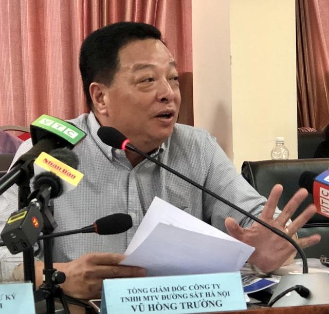 Ông Vũ Hồng Trường - Tổng Giám đốc Công ty TNHH Đường sắt Hà Nội