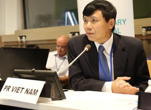 Đại sứ Đặng Đình Quý - Trưởng phái đoàn Việt Nam tại Liên Hợp Quốc