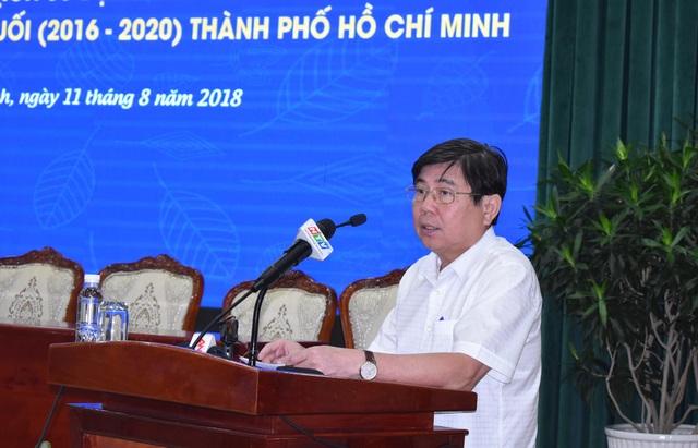 Chủ tịch UBND TPHCM Nguyễn Thành Phong yêu cầu xử lý kiên quyết các dự án chậm triển khai để nâng cao hiệu quả sử dụng đất