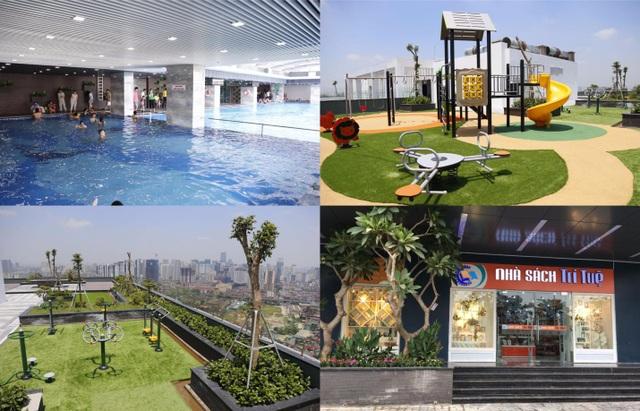 Riverside Garden đã hoàn thiện các tiện ích hấp dẫn.