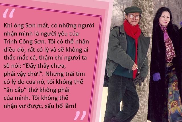 Khánh Ly kể về cuộc gặp gỡ cuối cùng với Trịnh Công Sơn