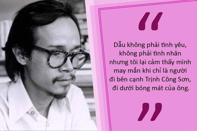 Ca khúc duy nhất Trịnh Công Sơn viết tặng Khánh Ly là… sự trách móc!