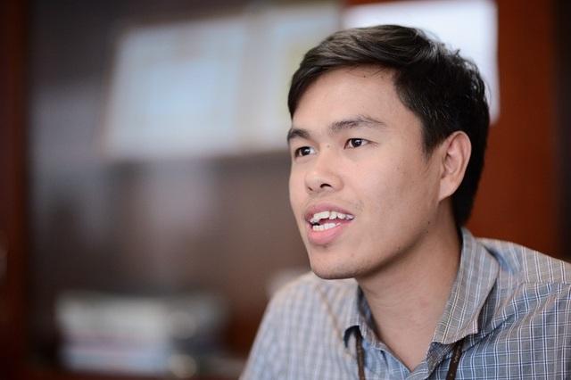 """Trần Văn Thuyết - Trưởng nhóm sản phẩm """"Trái tim của nhà mạng"""" là một 9X đời đầu."""