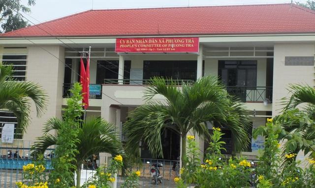 Hai Chủ tịch UBND xã Phương Trà (giai đoạn 2016-2017) đã quyết toán khống nhiều công trình để lấy tiền chi cho các khoản chi tạm ứng, tiếp khách, quà tết...