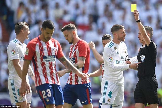 Những cuộc so tài Real Madrid-Atletico luôn đầy khốc liệt và toan tính