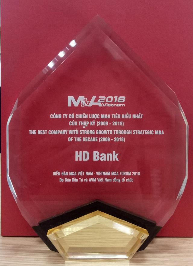 HDBank: Doanh nghiệp có chiến lược M&A tiêu biểu Nhất Thập kỷ - 3