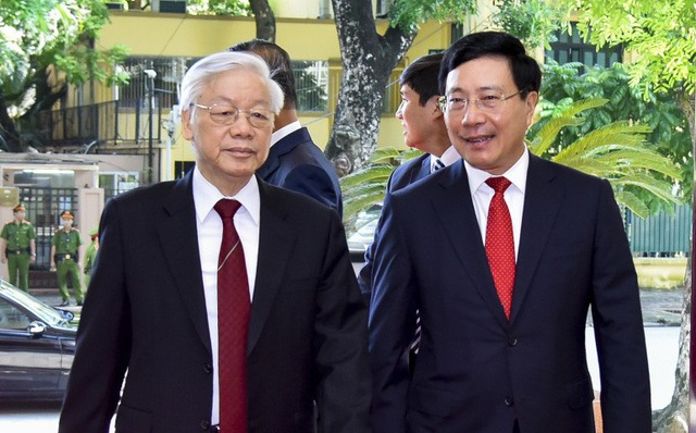 Tổng Bí thư Nguyễn Phú Trọng tới dự và chỉ đạo HNNG 30