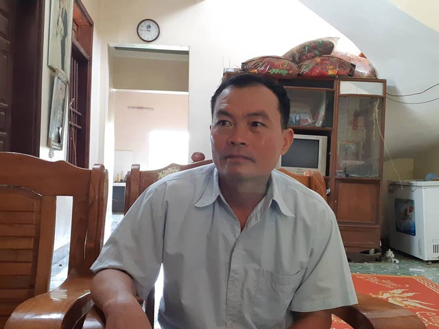 Ông Phùng Quý Mão - Chủ tịch UBND xã Kim Thượng (Tân Sơn, Phú Thọ).