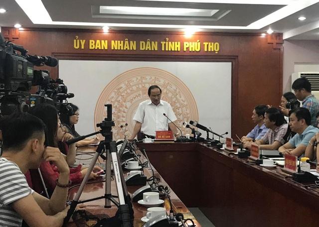Ông Hà Thế San cho biết Phú Thọ sẽ phối hợp để cùng Bộ Y tế điều tra dịch tễ, tìm hiểu các ca nhiễm HIV trên địa bàn xã Kim Thượng.