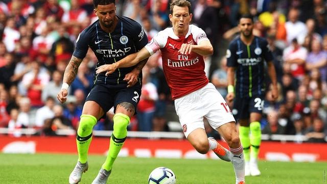 Lối chơi pressing của Man City khiến Arsenal gặp khó