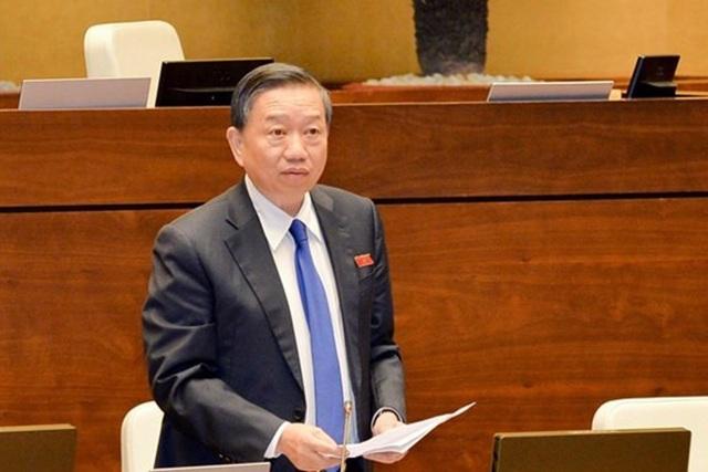 Bộ trưởng Công an - Thượng tướng Tô Lâm sẽ trả lời chất vấn trước UB Thường vụ Quốc hội chiều nay, 13/8.