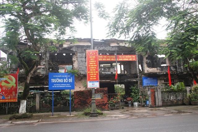 Di tích Trường Bồ Đề thuộc Di tích Quốc gia đặc biệt Thành cổ Quảng Trị và các di tích ghi dấu sự kiện 81 ngày đêm, mùa hè 1972