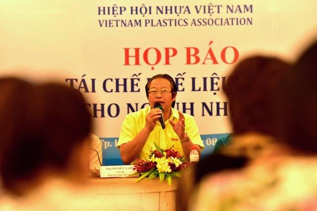 Theo ông Lam, ngành nhựa là ngành có số lượng doanh nghiệp lớn nhất cả nước với hơn 2.000 doanh nghiệp, sử dụng 118.925 lao động.