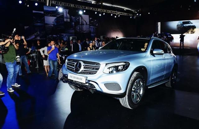 Mercedes-Benz GLC chính thức có mặt tại Việt Nam từ tháng 4/2016, thay thế cho dòng GLK.