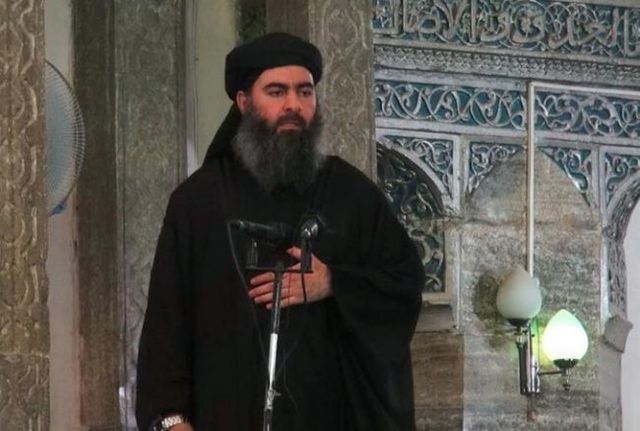 Thủ lĩnh tối cao của Tổ chức Nhà nước Hồi giáo tự xưng (IS) Abu Bakr al-Baghdadi (Ảnh: Reuters)