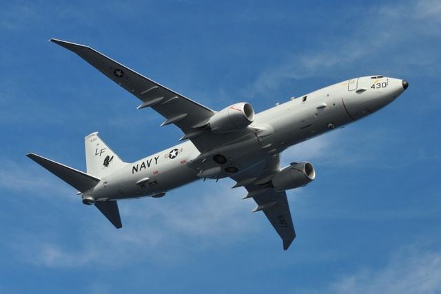Máy bay P-8A Poseidon của quân đội Mỹ (Ảnh: US Navy)