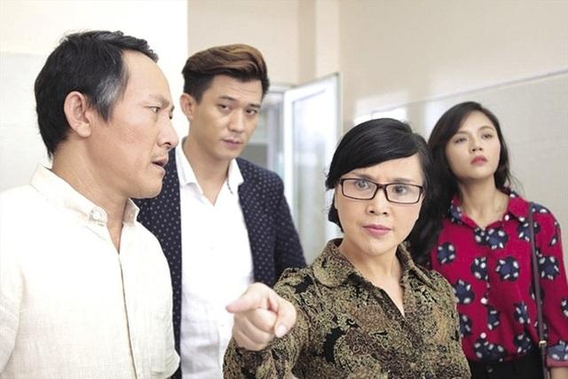 NSND Lan Hương vào vai mẹ chồng tàn nhẫn trong Ngược chiều nước mắt.