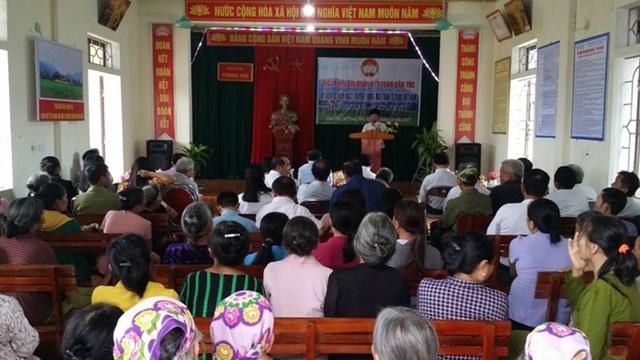 Tại thôn Trung Hải, xã Thiên Lộc, công tác khuyến học cũng được thôn lồng ghép ngay trong ngày hội toàn dân. Việc lồng ghép này đã góp phần giúp công tác khuyến học phát triển.