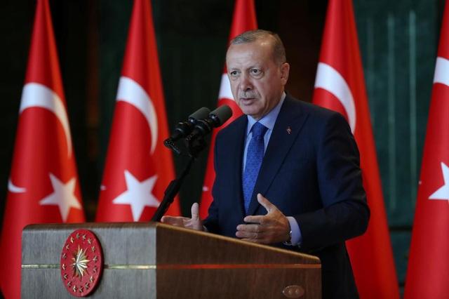 Tổng thống Thổ Nhĩ Kỳ Recep Erdogan (Ảnh: Reuters)