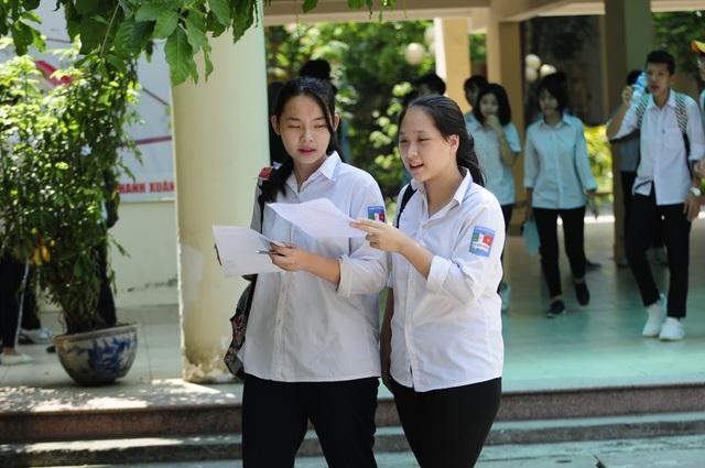 Phương án 4 môn thi được nhiều chuyên gia ủng hộ bởi môn Ngoại ngữ bắt buộc là hoàn toàn hợp lý trong bối cảnh hội nhập. (Ảnh: Mỹ Hà).