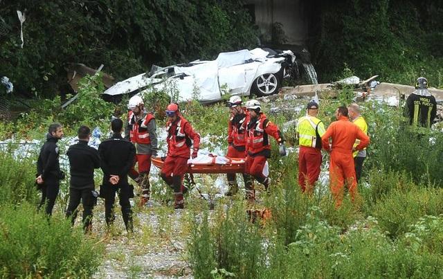 Cảnh sát, lính cứu hỏa, nhân viên cứu hộ và chó nghiệp vụ đã được huy động tới hiện trường để đưa những nạn nhân bị vùi lấp trong đống đổ nát ra ngoài. Hiện nguyên nhân dẫn tới vụ sập cầu chưa được công bố chính thức.