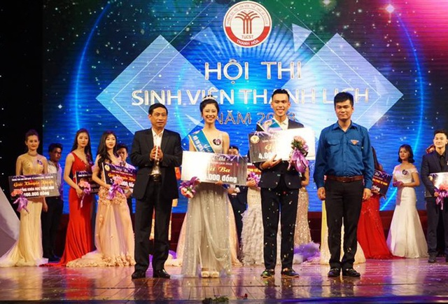 Hàn Hải Hằng từng giành Giải 3 Sinh viên thanh lịch tỉnh Thanh Hóa năm 2018